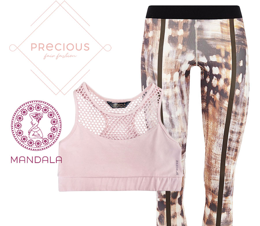 Precious Fair Fashion: Yoga Bra und Pant - Mandala
